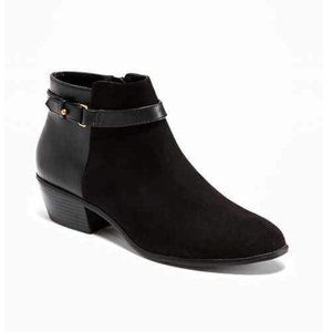 OLD NAVY | Suede & Leather Booties